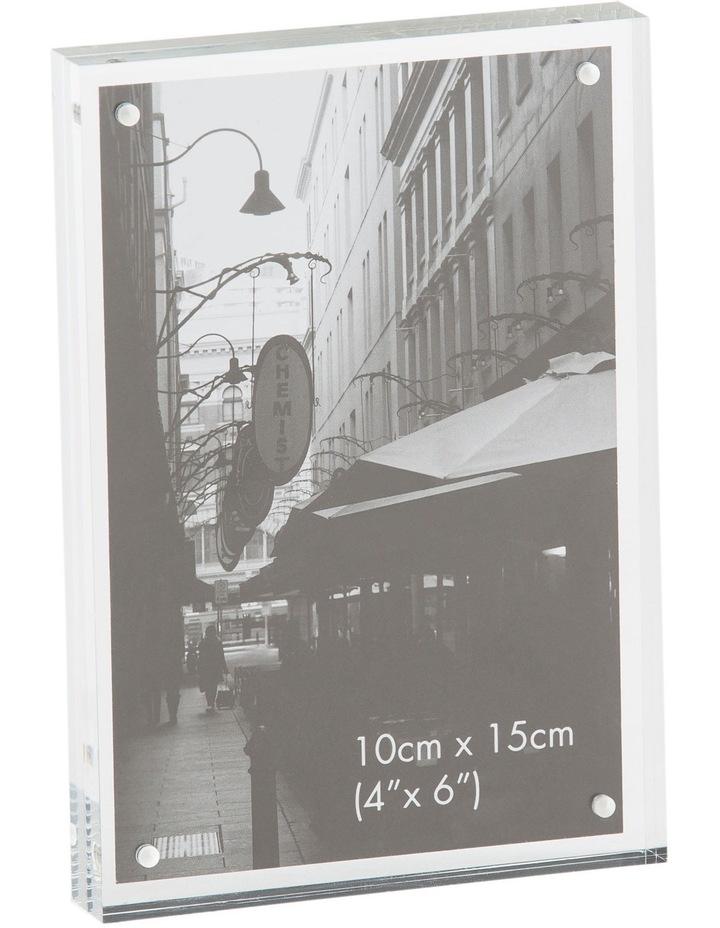 Acrylic Frame  10x15cm image 1