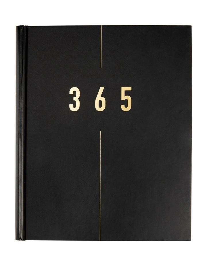 Life Essentials 365 Days Journal Black image 1