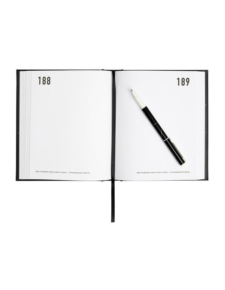 Life Essentials 365 Days Journal Black image 2