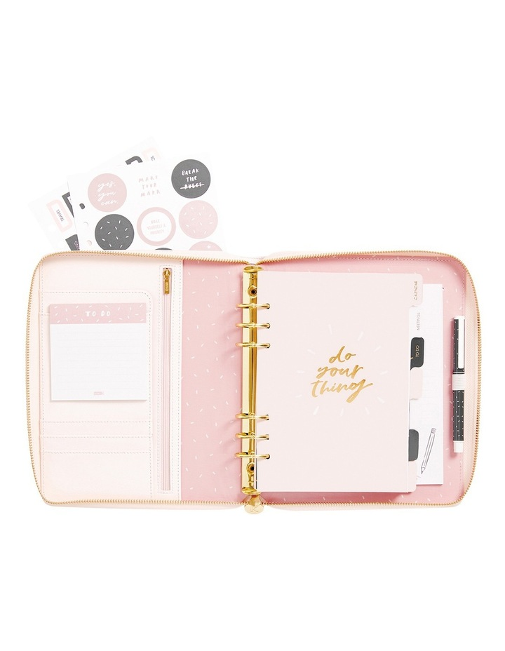 Own Your Story Leather Personal Zip Planner Large Your Story image 2