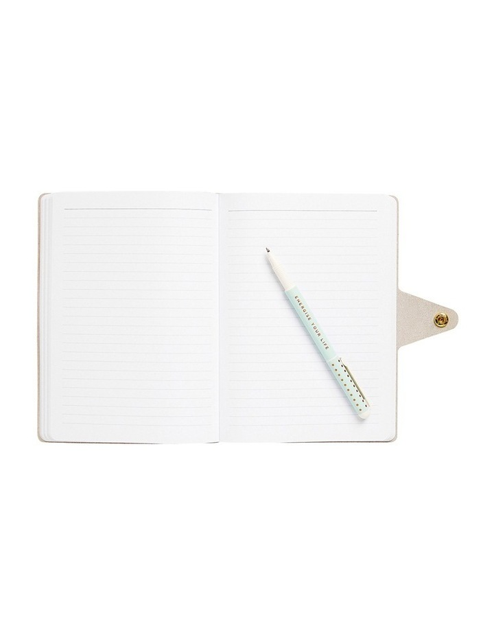 Energise Your Life A5 Flexi Bonded Leather Journal Energise image 2
