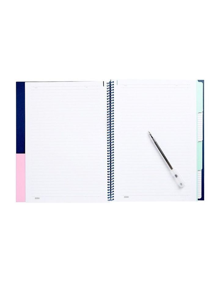 Avocado Cute 2018 A4 4-Tab Notebook Study Essentials image 2