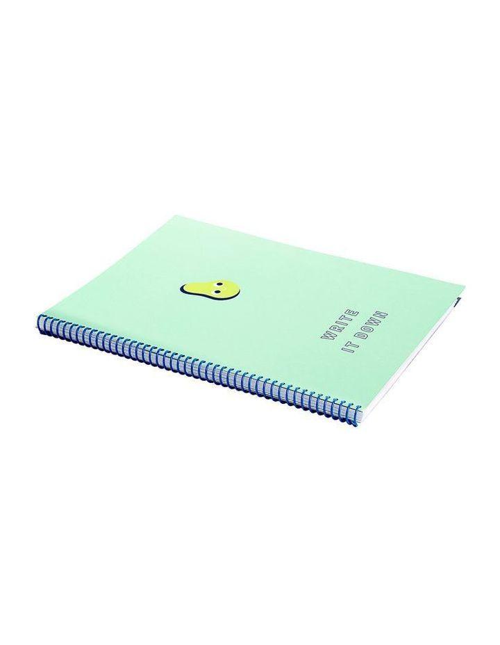 Avocado Cute 2018 A4 4-Tab Notebook Study Essentials image 4