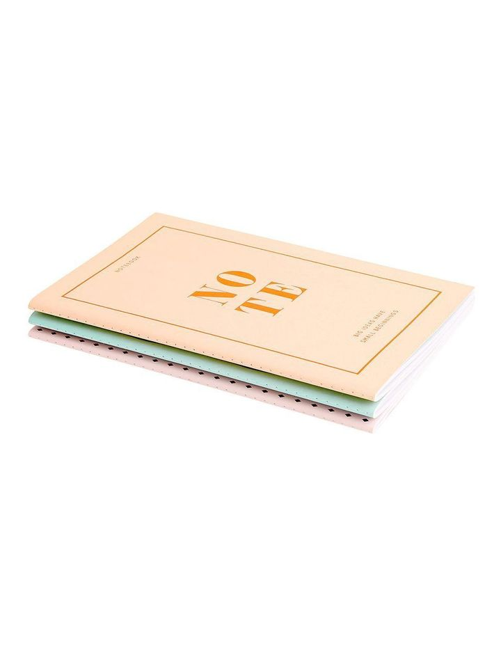 Energise Your Life A5 Essential Notebooks 3pk Energise image 4