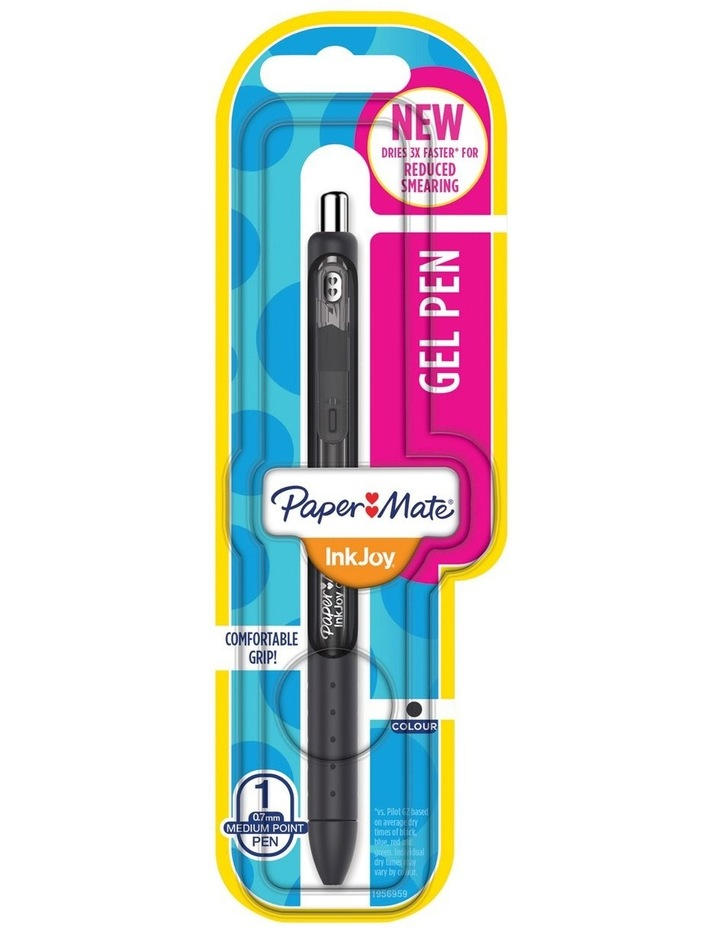Paper Mate Inkjoy Gel 0.7 Retractable Gel Pen Black image 1