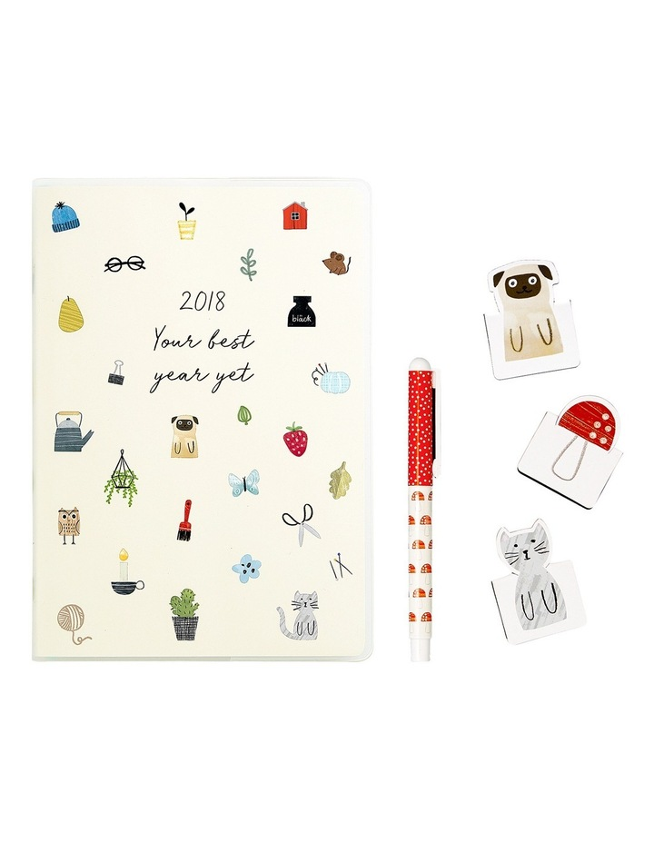 2018 A5 Sweet Diary Gift Pack Joy image 2