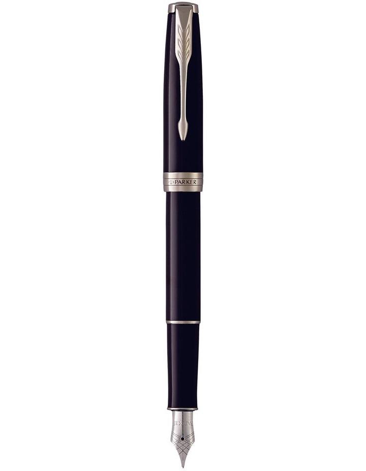 Parker Sonnet Black Lacquer Fountain Pen image 1