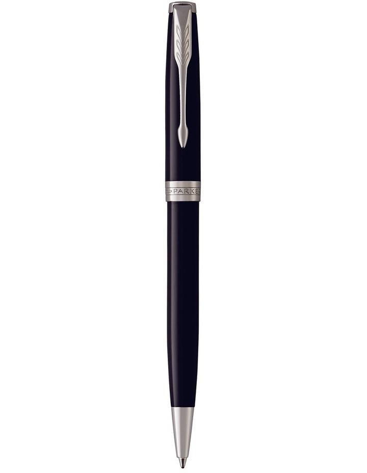 Parker Sonnet Black Lacquer Ballpoint Pen image 1