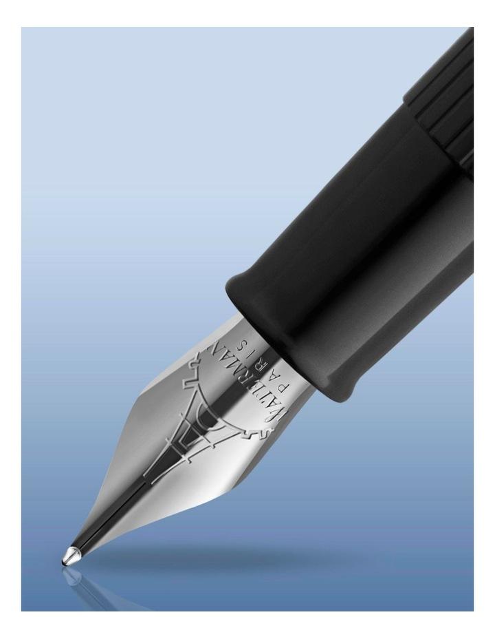 Embleme Blue Chrome Trim Fountain Pen image 4