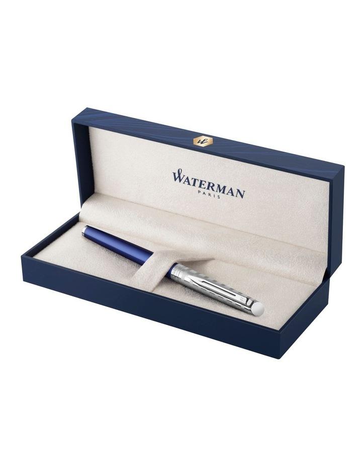 Waterman Hemisphere Deluxe Stripe Fountain Pen in Blue image 3