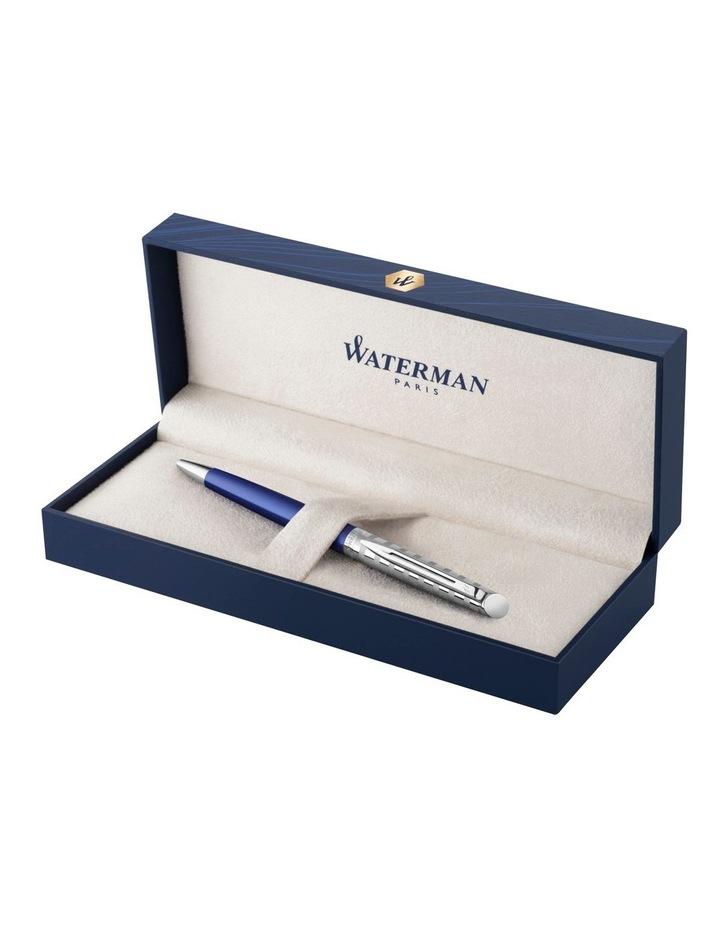 Waterman Hemisphere Deluxe Stripe Ballpoint Pen in Blue image 2