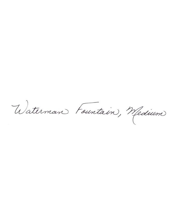 Waterman Expert Black Gold Trim Fountain Pen image 5