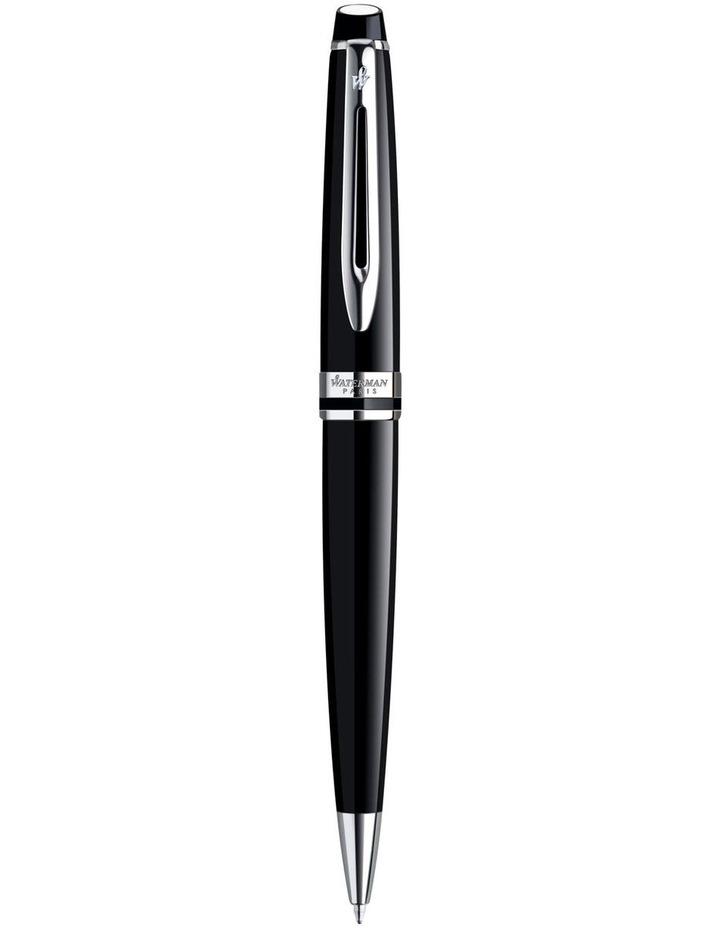 Expert Black Chrome Ballpoint Pen image 1