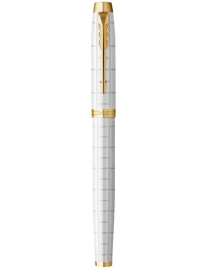 Parker IM Premium Pearl with Gold Trim Fountain Pen image 4
