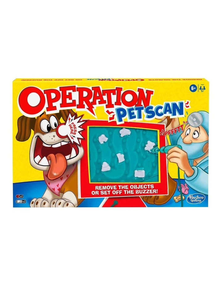 Operation - Pet Scan Board Game with Silly Sounds - Remove the Objects or Get the Buzzer image 2