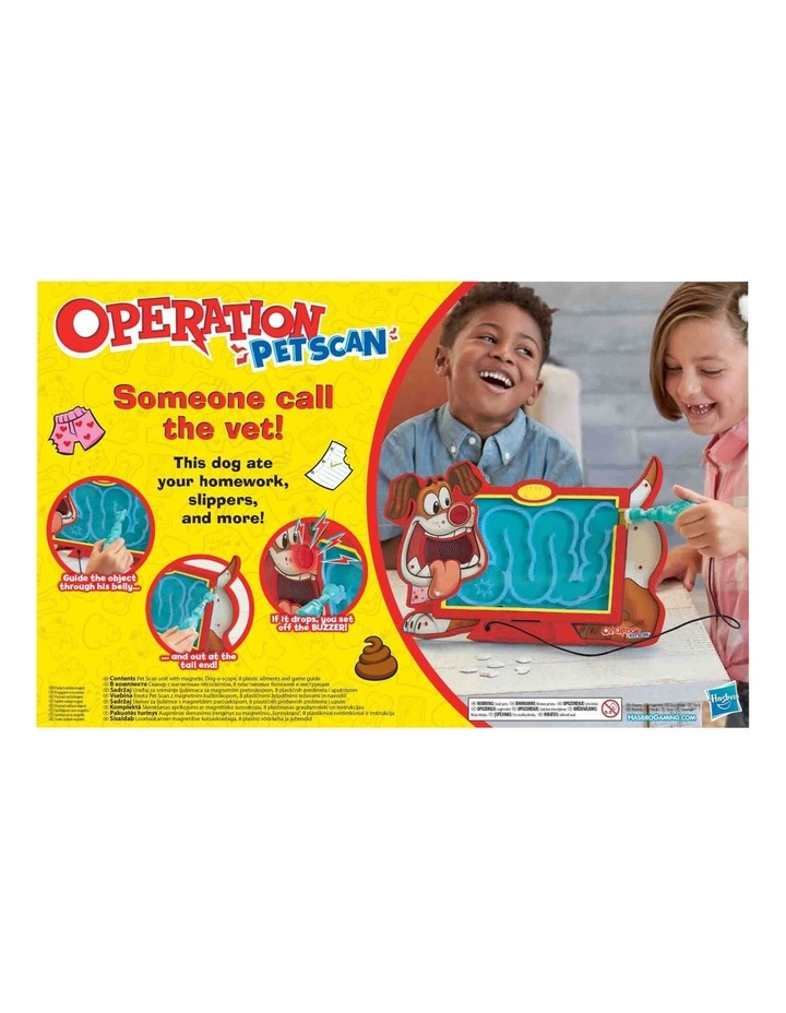 Operation - Pet Scan Board Game with Silly Sounds - Remove the Objects or Get the Buzzer image 3