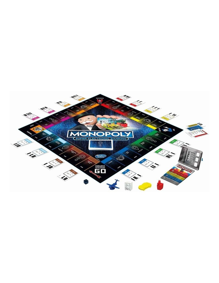 Monopoly Ultimate Rewards Board Game - Electronic Banking Unit with Tap Technology image 2