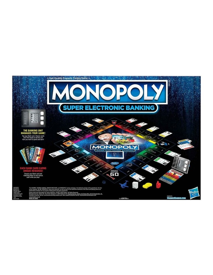 Monopoly Ultimate Rewards Board Game - Electronic Banking Unit with Tap Technology image 3