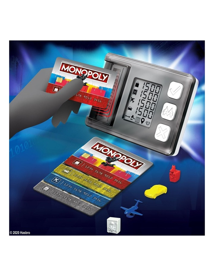 Monopoly Ultimate Rewards Board Game - Electronic Banking Unit with Tap Technology image 6