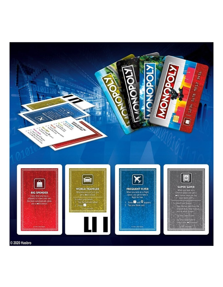 Monopoly Ultimate Rewards Board Game - Electronic Banking Unit with Tap Technology image 7