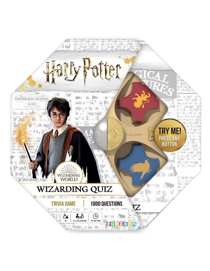 Harry Potter Electronic Wizard Quiz Game image 1