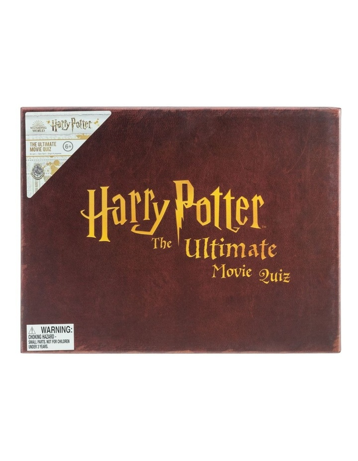 Ultimate Harry Potter Movie Quiz image 1