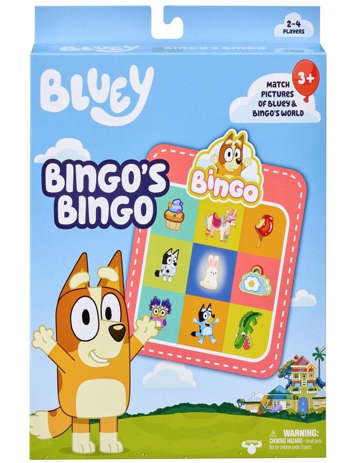 Bluey S1 Bingo's Bingo Game image 1