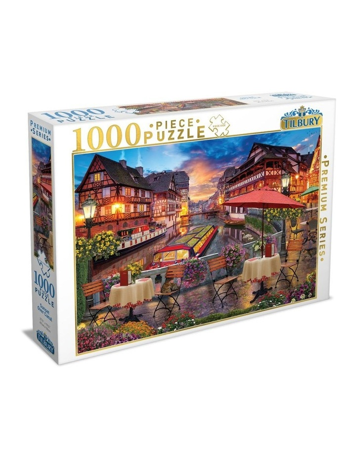 High Quality Puzzle - Sunset Over Canal 1000pce image 1
