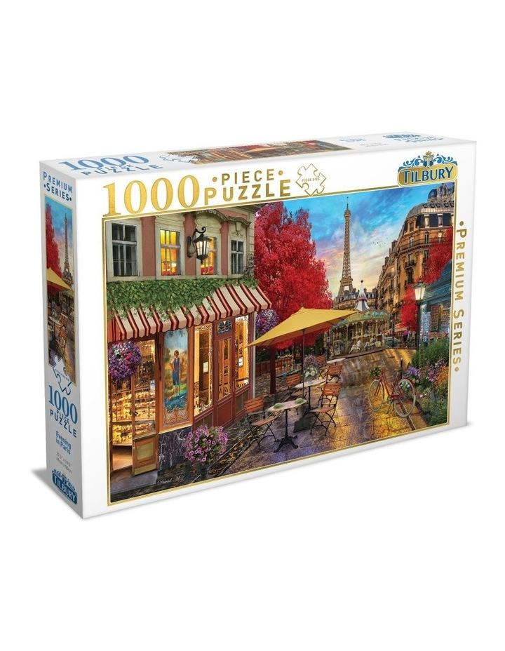 High Quality Puzzle - Evening in Paris 1000pce image 1