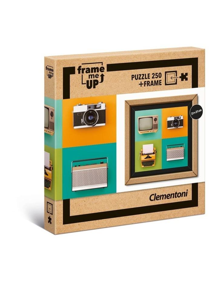 250 Piece Frame Me Up  - Vintage Electronics Puzzle (2020) image 1