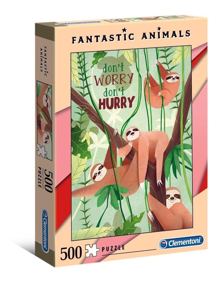 500 Piece Fantastic Animals 3 Puzzle image 1