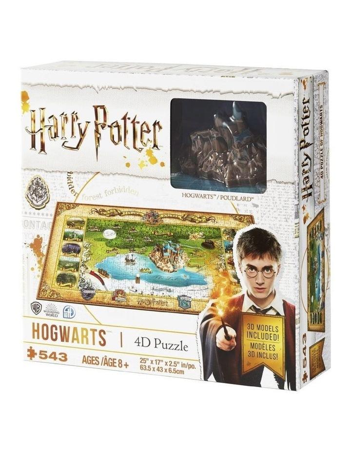Wizarding World 4D Large Puzzle image 1