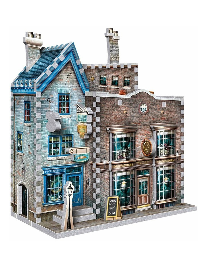 Harry Potter Diagon Alley Collection Ollivander's Wand Shop/Scribbulus 3D Puzzle image 2