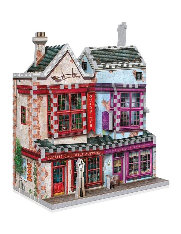 Diagon Alley Collection Quality Quidditch Supplies/Slug & Jiggers 3D Puzzle image 2
