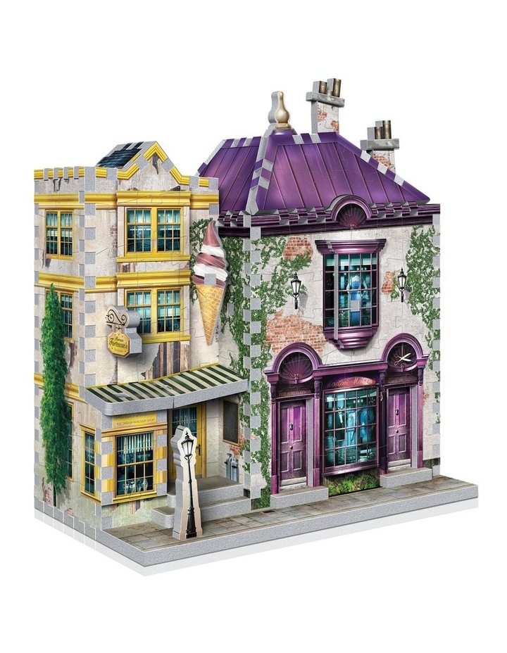 Harry Potter Diagon Alley Collection Madam Malkin's and Florean Fortescue's Icecream 3D Puzzle image 2