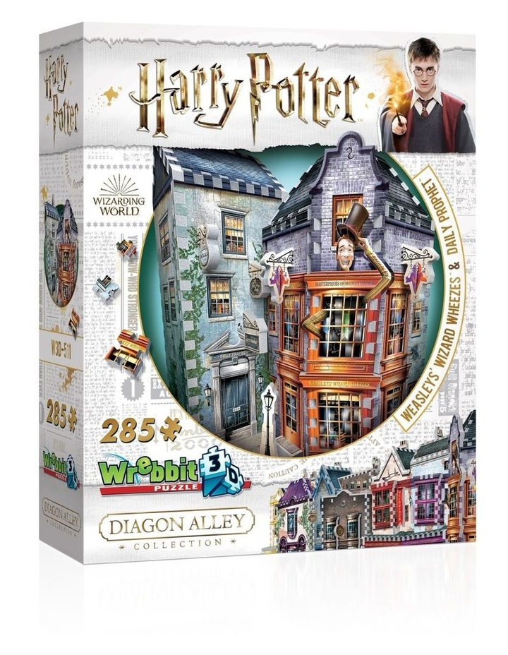 Diagon Alley Collection Weasley's Wizard Wheezes 3D Puzzle image 1