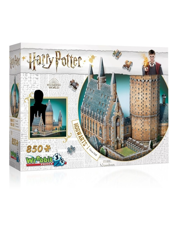 Harry Potter Hogwarts Great Hall 3D Puzzle image 1