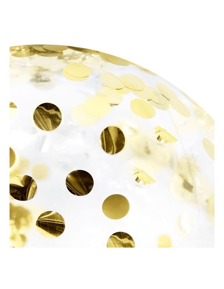 Gold Confetti Beach Ball image 4