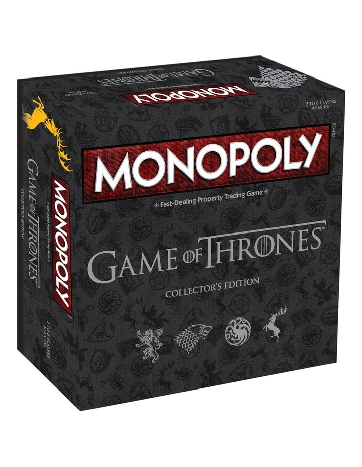 Game of Thrones Monopoly Collector's Edition image 1