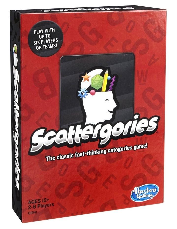 Scattergories Word Game image 1