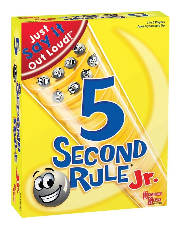 5 Second Rule Junior image 1