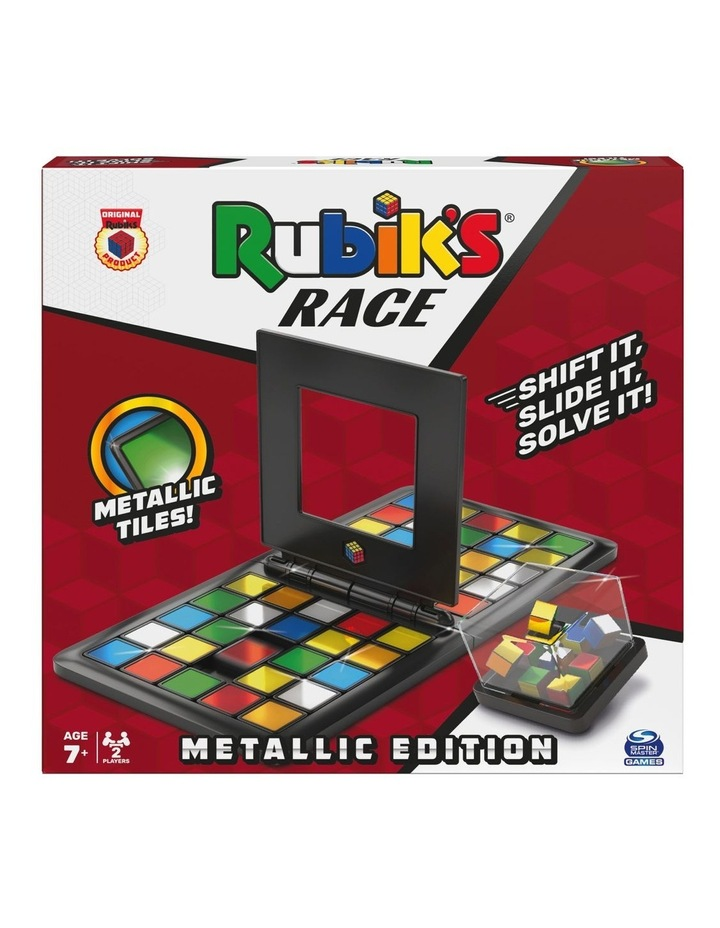 Rubik's Race Metallic Edition Game image 1