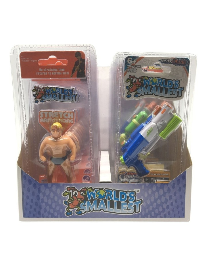 Board Games World's Smallest CDU: 4 Stretch Armstrong / Super Soaker  Assortment