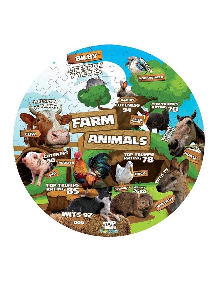 Farm Animals Top Trumps Floor Puzzle - 100 piece image 2
