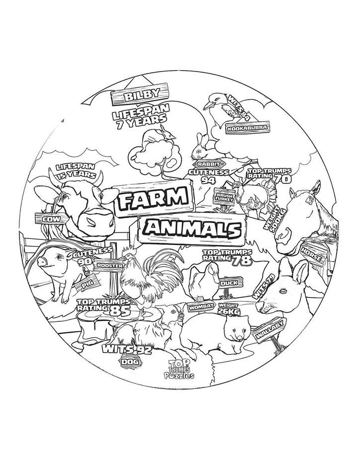 Farm Animals Top Trumps Floor Puzzle - 100 piece image 3