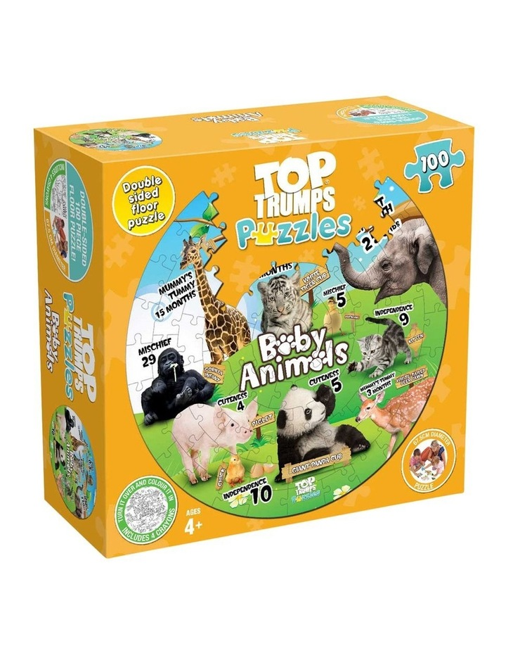 Baby Animals Top Trumps Floor Puzzle - 100 piece image 1