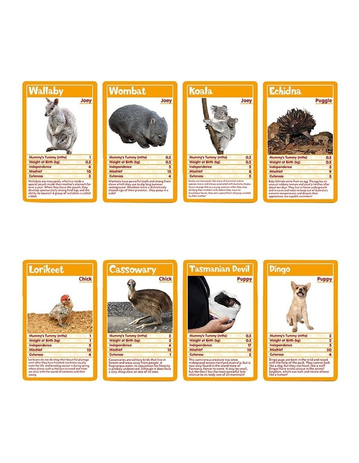 Baby Animals Top Trumps Floor Puzzle - 100 piece image 4