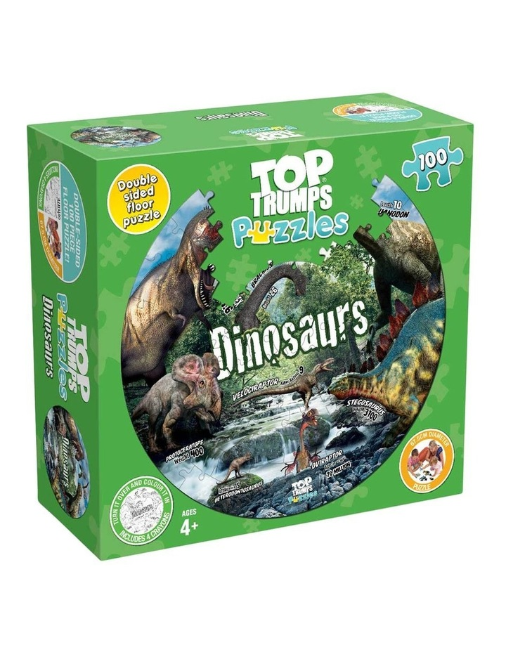 Dinosaurs To Trumps Floor Puzzle - 100 piece image 1