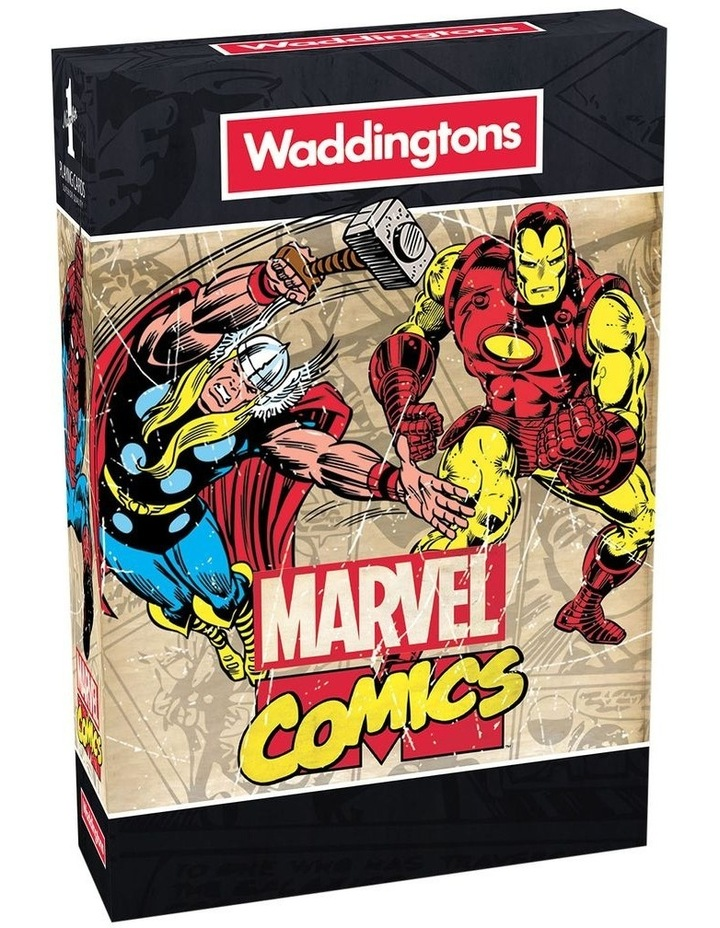 Marvel Comics Playing Cards image 1