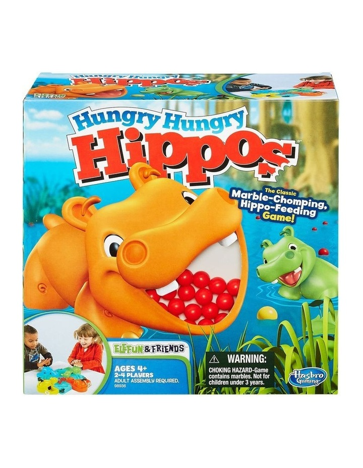 Hungry Hungry Hippos - The Classic Marble Chomping Game image 2